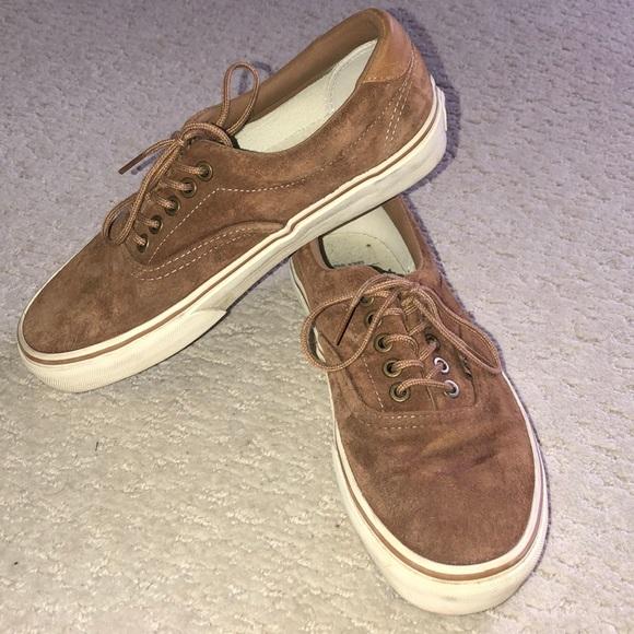 light brown suede vans
